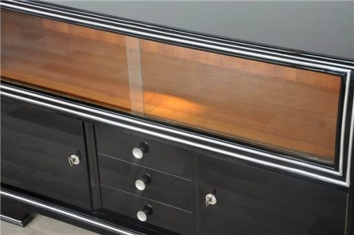 Art Deco Sideboard, Vitrine, Deutschland