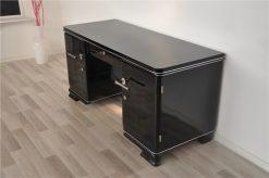 Art Deco Schreibtisch, schmales Design