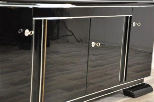 Art Deco Lowboard, Lacobellglasplatte