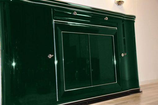 Art Deco Sideboard, Jaguar Racing Green