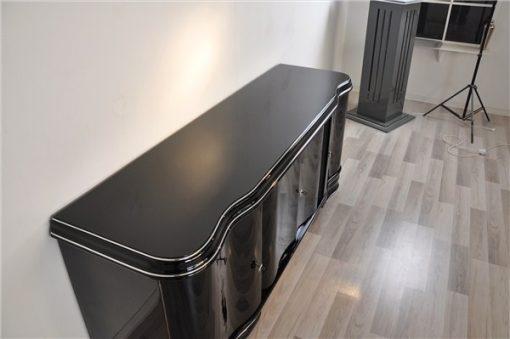 Schlichtes Lowboard, Sideboard, Art Deco