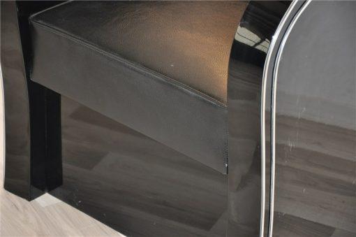 Art Deco Sessel, Chromliner