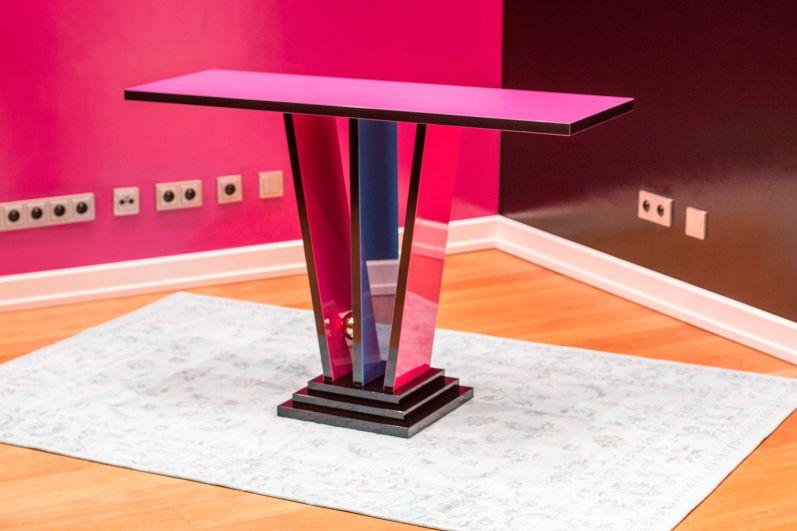 la console de mur by margarethe schreinemakers limitiert original antike m bel. Black Bedroom Furniture Sets. Home Design Ideas
