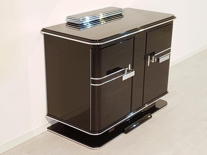 kommode schwarz klavierlack kreative ideen f r. Black Bedroom Furniture Sets. Home Design Ideas