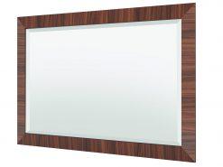 Makassar Art Deco Design Spiegel, Wandspiegel, Luxusmoebel, Makassar-Rahmen, Edelholz, Design, Wohnzimmer Spiegel, Rechteckig
