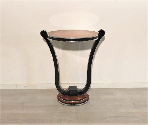 Honig Ahorn Art Deco Stil Beistelltisch, Art deco Stil Moebel, Art Deco Reproduktionen, Beistelltische, Luxusdesign, Innendesign