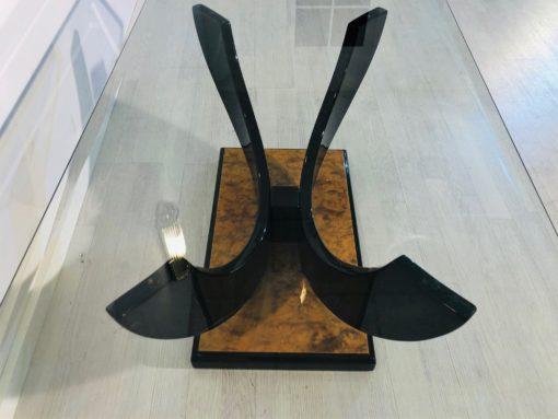 Original Art Deco Couchtisch Walnuss Wurzelholz, Art Deco Moebel kaufen, Luxus-Moebel, Antiquitaeten Kaufen, Couchtische, Wohnzimmer