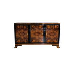 Walnuss Sideboard aus der Art Deco Ära, Art Deco Moebel Haendler, Art Deco Moebel Verkauf, Luxus Moebel, Art Deco Sideboards, Design moebel